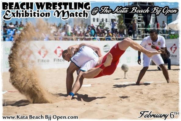 beach wrestling thailand
