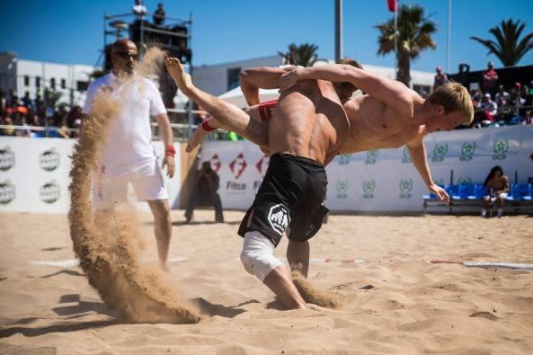 Beach Wrestling Phuket